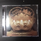 Carnal Diafragma / Fecalizer - Grind Monsters CD (VG+/M-) -grindcore-