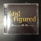 Disfigured - Anthology Of Dementia CD (VG+/M-) -death metal-