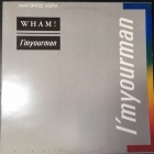 Wham! - I'm Your Man 12'' SINGLE (VG+/VG+) -synthpop-