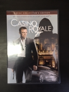 007 Casino Royale (collectors edition) 2DVD (VG+/M-) -toiminta-