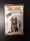 ZZ Top - Greatest Hits C-kasetti (M-/VG+) -blues rock/hard rock-