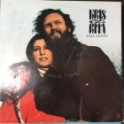 Kris Kristofferson & Rita Coolidge - Full Moon LP (VG-VG+/VG) -country-