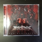 Dissolution - The Beginning CD (M-/M-) -death metal-