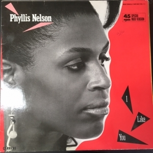 Phyllis Nelson - I Like You 12 SINGLE (VG+/VG+) -disco-