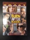 Burn After Reading DVD (VG+/M-) -komedia-
