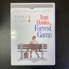 Forrest Gump (collector's edition) 2DVD (M-/M-) -draama/komedia-