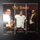 Tenors (Carreras / Domingo / Pavarotti) 3CD (M-/VG+) -klassinen-