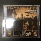 Great Voices Of The Opera II - Maria Callas / Maria Cebotari 2CD (VG+/M-) -klassinen-