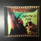 Necrophagia - Death Is Fun CDEP (VG+/M-) -death metal-