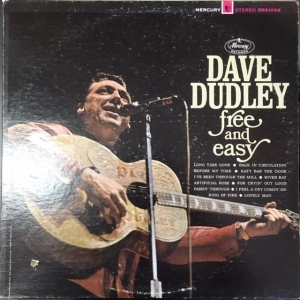 Dave Dudley - Free And Easy LP (VG+/VG) -country-