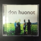 Don Huonot - Don Huonot CD (M-/VG+) -pop rock-