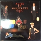 Alice In Wasteland - Alice In Wasteland LP (VG+-M-/VG+) -power pop-