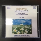 Jeno Jando - Beethoven: Piano Sonatas Vol.10 CD (M-/M-) -klassinen-