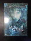 Lady In The Water DVD (VG+/M-) -jännitys-