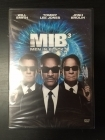 Men In Black 3 DVD (avaamaton) -toiminta/komedia-