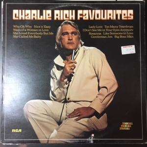 Charlie Rich - Favourites LP (M-/VG+) -country-