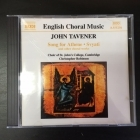 Tavener - Song For Athene / Svyati And Other Choral Works CD (M-/M-) -klassinen-