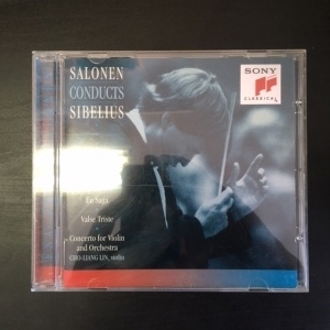 Esa-Pekka Salonen - Salonen Conducts Sibelius CD (VG+/M-) -klassinen-