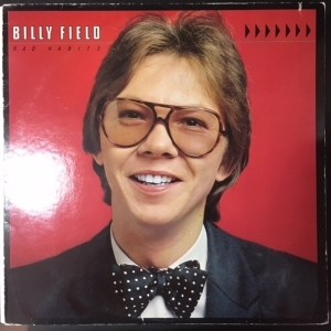 Billy Field - Bad Habits LP (VG+-M-/VG+) -jazz pop-