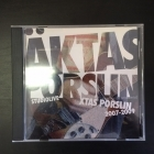 Äktas Porslin - Xtas Porslin 2007-2009 CD (VG+/M-) -rock n roll-