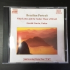 Gerald Garcia - Brazilian Portrait (Villa-Lobos And The Guitar Music Of Brazil) CD (VG+/VG+) -klassinen-