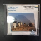 Fernando Jonas - Classical Guitar Masterpieces CD (VG+/VG+) -klassinen-