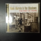 Hank Marvin & The Shadows - The First 40 Years (The Very Best Of) 2CD (VG+/M-) -rautalanka-