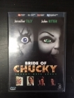 Bride Of Chucky DVD (VG+/M-) -kauhu-