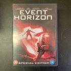 Event Horizon (special edition) 2DVD (VG/M-) -kauhu/sci-fi-