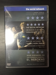 Social Network (collectors edition) 2DVD (VG/M-) -draama-