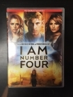 I Am Number Four DVD (G/VG+) -toiminta/sci-fi-
