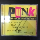 Punk (The Worst Of Total Anarchy) CD (VG/VG+)