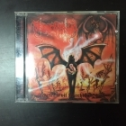 Necromantia - Scarlet Evil Witching Black (FR/OPCD036/1995) CD (VG/VG+) -black metal-