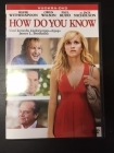 How Do You Know DVD (M-/M-) -komedia/draama-
