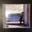 Federico Mondelci - Piazzolla Tangos Arranged For Saxophone And Orchestra CD (VG+/M-) -klassinen-