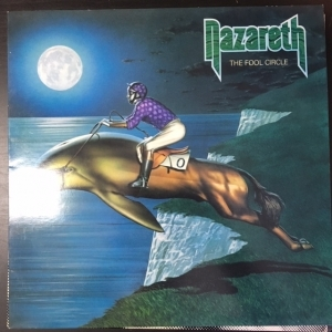 Nazareth - The Fool Circle LP (VG+-M-/VG+) -hard rock-