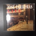 Jose Carreras - Live CD (M-/M-) -klassinen-