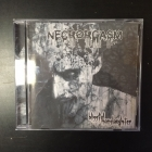 Necrorgasm - Blissful Manslaughter CD (VG+/VG+) -death metal-