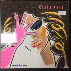 Chaka Khan - I Feel For You LP (VG-VG+/VG+) -funk-