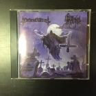 Nocturnal Graves / Hell Spirit - The Gravespirit Sessions CD (M-/M-) -thrash metal/black metal-