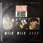 Talking Heads - Wild Wild Life / People Like Us (Movie Version) 7'' (VG/VG) -new wave-