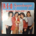 REO Speedwagon - Wherever You're Goin' (Remix) / Shakin' It Loose 7'' (VG+/VG) -pop rock-