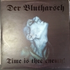 Der Blutharsch - Time Is Thee Enemy! (limited edition/blue) LP (VG+/VG+) -martial industrial-