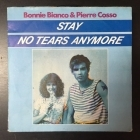 Bonnie Bianco & Pierre Cosso - Stay / No Tears Anymore 7'' (VG/VG) -pop-
