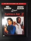 Tappava ase 3 (director's cut) DVD (M-/M-) -toiminta-