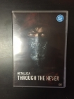 Metallica - Through The Never 2DVD (M-/M-) -seikkailu/heavy metal-