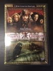 Pirates Of The Caribbean - Maailman laidalla (limited edition) 2DVD (VG-VG+/M-) -seikkailu-
