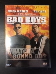 Bad Boys (collectors edition) DVD (VG+/M-) -toiminta-