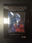 Iron Maiden - Visions Of The Beast 2DVD (VG/VG) -heavy metal-
