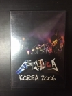 Metallica - Korea 2006 DVD (VG+/M-) -heavy metal/thrash metal-